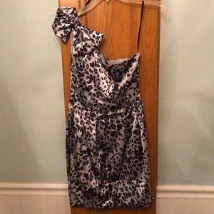 Black & Silver B. Darlin Dress